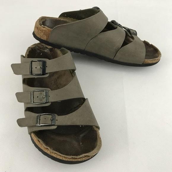 b9b481ad5bee Birkenstock Shoes - Birkenstock Birkis Mocha Sandals Size 38 245 L 7-8